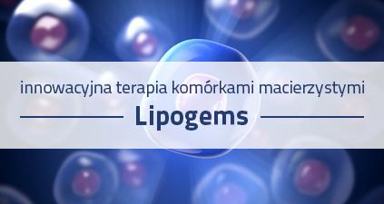 Podanie Lipogems do dysków kręgosłupa